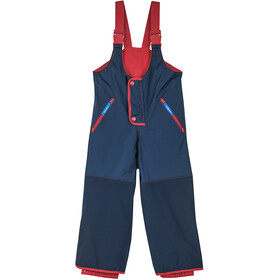 Finkid Kajo Husky Winter Pants Kids, navy/red